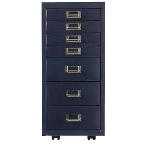 Spencer 7 Drawer Cabinet Navy Blue