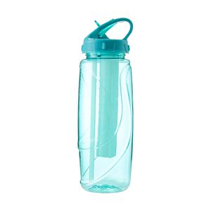 Tri Sipper Drink Bottle Includes Chill Stick 600mL Teal