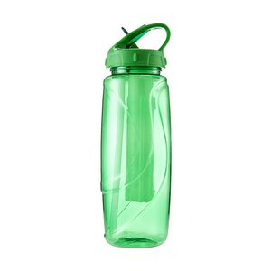 Tri Sipper Drink Bottle Includes Chill Stick 600mL Green