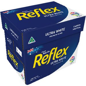 Reflex Ultra A4 Paper White 500 Sheet 5 Pack