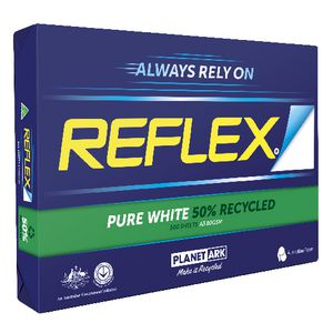 Reflex 50% Recycled 80gsm A3 Copy Paper 500 Sheet Ream