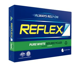 Reflex 50% Recycled 80gsm A4 Copy Paper 500 Sheet Ream