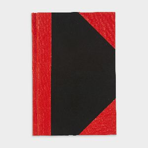 Spirax A6 Red and Black Notebook 200 Page