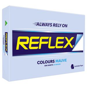 Reflex Colours 80gsm A4 Copy Paper Mauve 500 Sheets