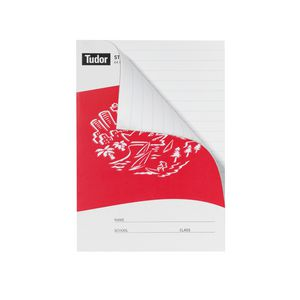Tudor NSW Exercise Book Red