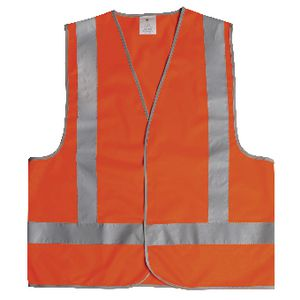 Unisafe Hi-Vis Safety Vest Day and Night Orange XL