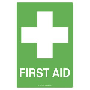 Mills Display First Aid Sign 300 x 450mm