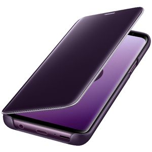 Samsung Clear View Standing Cover for Galaxy S9+ Purple