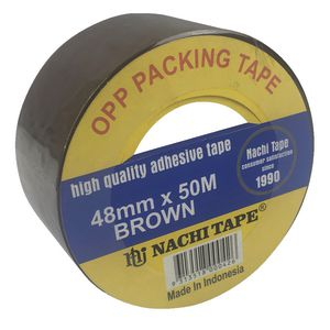 Nachi Brown Packaging Tape 48mm x 50m Roll
