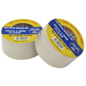 Nachi Clear Packaging Tape 48mm x 50m Roll