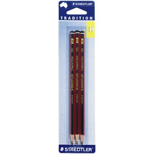 Staedtler Tradition Pencils H 3 Pack