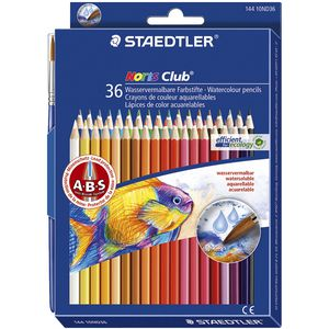 Staedtler Noris Club Aquarell Watercolour Pencils 36 Pack