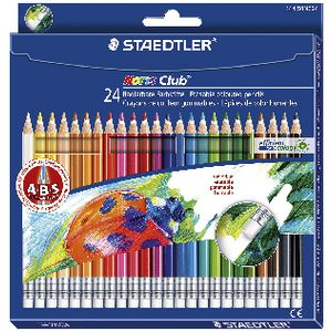 Staedtler Noris Club Erasable Colour Pencils 24 Pack