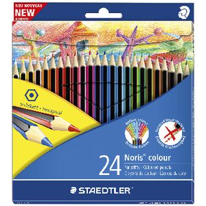 Staedtler Noris Colour Pencils 24 Pack