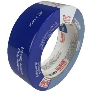 Hystik 7 day removal outdoor masking tape 36mm x 55m officeworks for Exterior masking tape