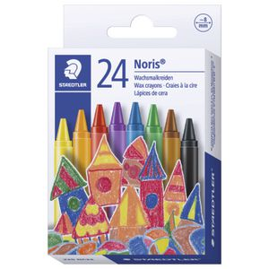 Staedtler Noris Club Wax Crayons 24 Pack