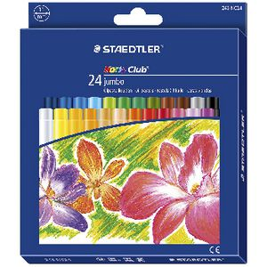 Staedtler Noris Club Jumbo Wax Crayons 8 Pack