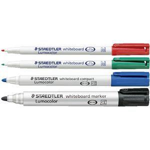 Staedtler Whiteboard Markers Assorted 4 Pack