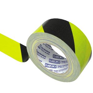 Stylus Premium Cloth Tape 48mm x 25m Yellow and Black