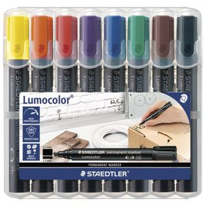 Staedtler 350 Permanent Markers Assorted 8 Pack