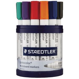 Staedtler 351 Whiteboard Markers Assorted 19 Pack