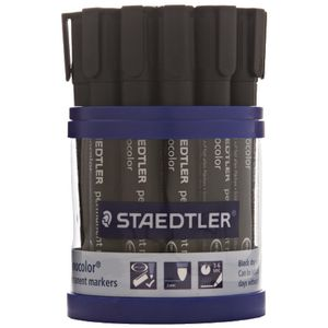 Staedtler 352 Permanent Markers Black 19 Pack
