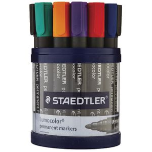 Staedtler 352 Permanent Markers Assorted 19 Pack