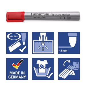 FAST /& FREE DELIVERY. STAEDTLER Stationery  Flipchart markers