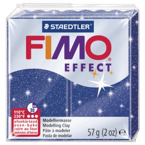 Staedtler FIMO Effect Modelling Clay Glitter Blue 57g