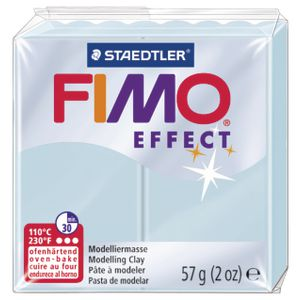 Staedtler FIMO Effect Modelling Clay Blue Ice Quartz 57g