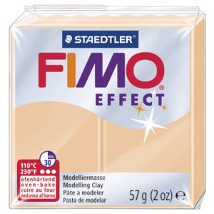 Staedtler FIMO Effect Modelling Clay Pastel Peach 57g