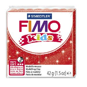 Staedtler FIMO Modelling Clay 42g Glitter Red