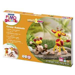 Staedtler FIMO Crazy Animals Monkey and Giraffe