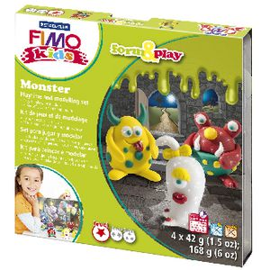 Staedtler FIMO Form and Play Monster Set