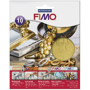 Staedtler FIMO Gold Leaf Metal 10 Sheets