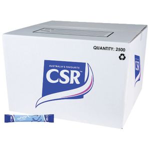CSR White Sugar Stick 3g 2500 Pack