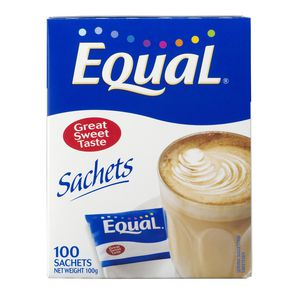 Equal Sachets 100 Pack