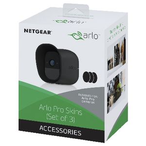 Netgear Arlo Pro Silicone Replacement Skins Black 3 Pack