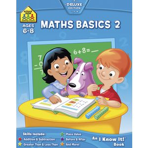 School Zone Maths Basics 2 I Know It Workbook