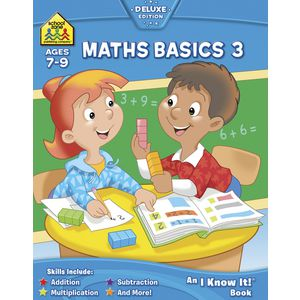 School Zone Maths Basics 3 I Know It Workbook