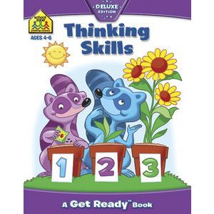 School Zone Thinking Skills Book