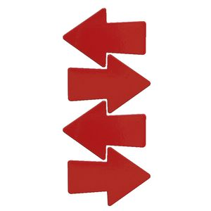 Three By Three Metal Magnets Arrows 4 Pack