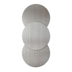 Three By Three Spot On Magnets Stainless 3 Pack