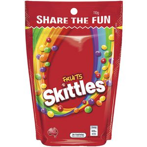 Skittles Fruit Share Bag 110g