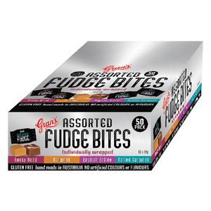 Grans Fudge Bites Assorted 50 Pack