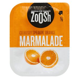 Zoosh Orange Marmalade 13.6g Snack Tub 50 Pack