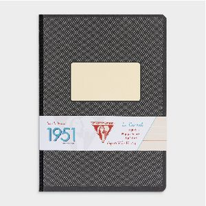 Clairefontaine 1951 Clothbound A5 Notebook 96 Page Black
