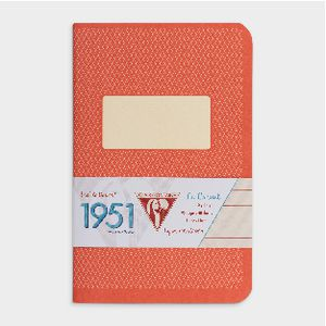 Clairefontaine 1951 Lined Pocket Notebook 96 Page Red