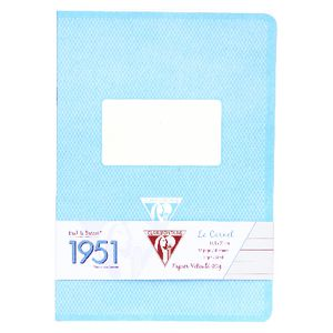 Clairefontaine 1951 A5 Notebook 96 Page Turquoise