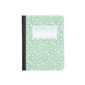 Decomposition Ruled Notebook Parsley 160 Page